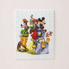 Kingdom Hearts: coded | Group Key Art Jigsaw Puzzle