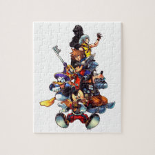 Kingdom Hearts: coded | Main Cast Key Art Jigsaw Puzzle