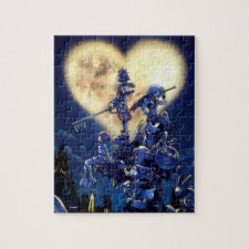 Kingdom Hearts | Heart Moon Box Art Jigsaw Puzzle