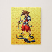 Kingdom Hearts | Sora Character Illustration Jigsaw Puzzle