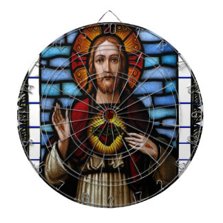 KINGDOM JESUS CRIST CATHOLIC 07CUSTOMIZABLE PRODUC DARTBOARD WITH DARTS