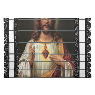 KINGDOM JESUS CRIST CATHOLIC 13 CUSTOMIZABLE PRODU CLOTH PLACE MAT