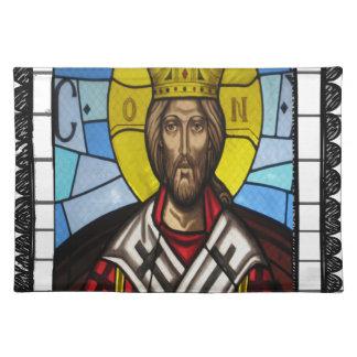 KINGDOM JESUS CRIST CATHOLIC 16 CUSTOMIZABLE PRODU CLOTH PLACE MAT