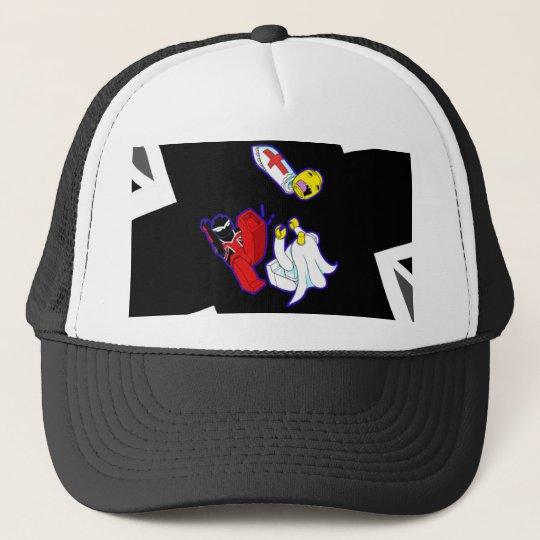 Kingdom Kicks Pope Trucker Hat