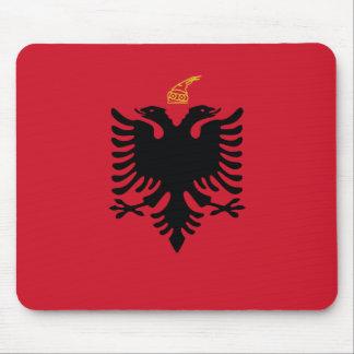 Kingdom Of Albania, Albania flag Mouse Pad
