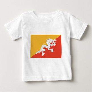Kingdom of Bhutan flag, dragon fire Baby T-Shirt