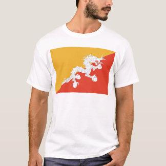 Kingdom of Bhutan flag, dragon fire T-Shirt