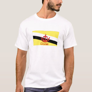 Kingdom of Brunei flag souvenir t-shirt
