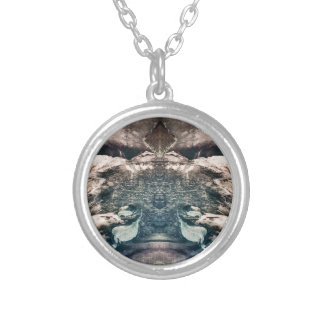 Kingdom of Chaos Silver Plated Necklace