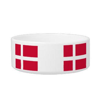 Kingdom of Denmark Flag Pet Food Bowl