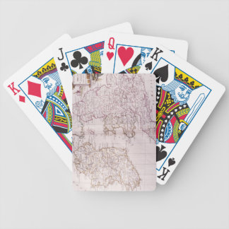 Kingdom of England Bicycle Playing Cards
