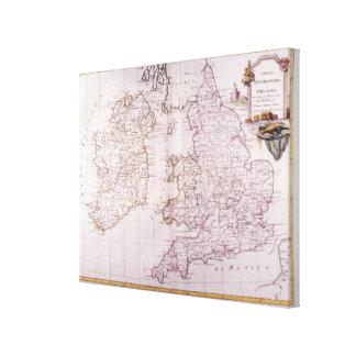 Kingdom of England Canvas Print