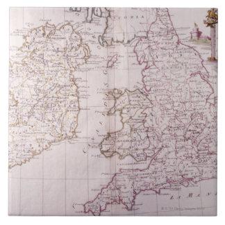 Kingdom of England Large Square Tile