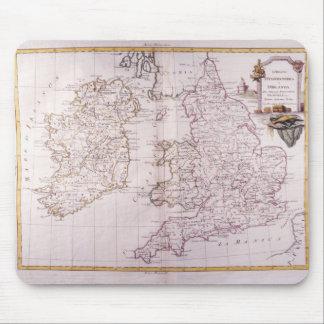 Kingdom of England Mouse Pad