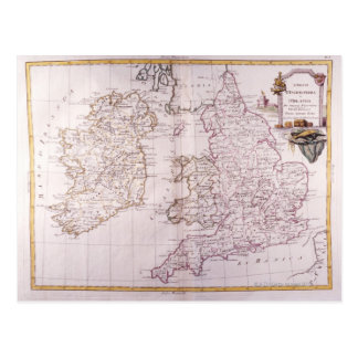 Kingdom of England Postcard