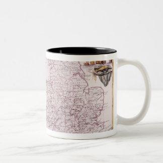 Kingdom of England Two-Tone Coffee Mug
