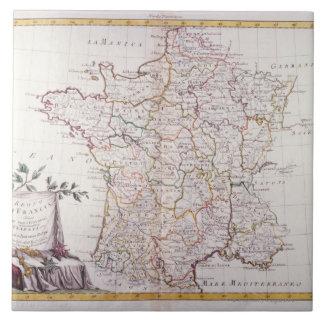 Kingdom of France Ceramic Tile