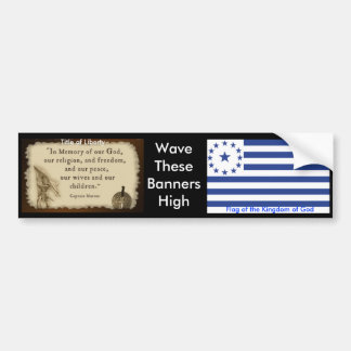 Kingdom of God bumper2 Bumper Sticker