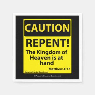 Kingdom of heaven standard cocktail napkin
