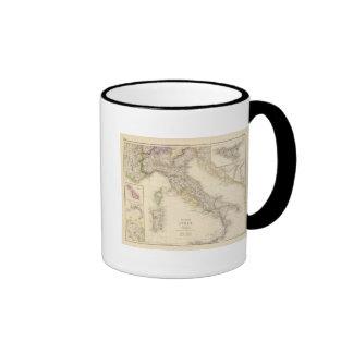 Kingdom of Italy Ringer Coffee Mug