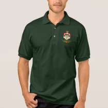 Kingdom of Jordan COA (Arabic) Polo Shirt