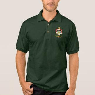 Kingdom of Jordan COA (Arabic) Polo Shirt