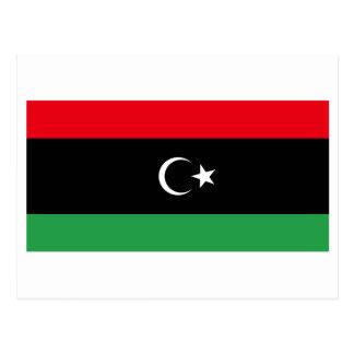 Kingdom of Libya Flag (1951-1969) Postcard