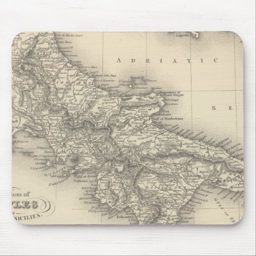 Kingdom of Naples Mouse Pads