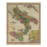 Kingdom of Naples or The Two Sicilies 2 Print