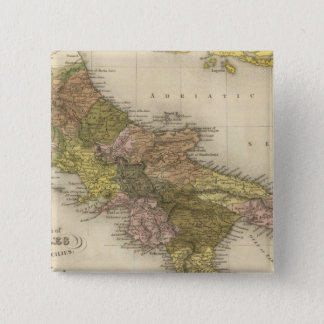 Kingdom of Naples or The Two Sicilies Pinback Button