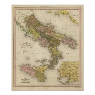 Kingdom of Naples or The Two Sicilies Poster