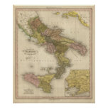 Kingdom of Naples or The Two Sicilies Posters