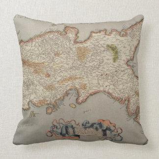 Kingdom of Naples Throw Pillow