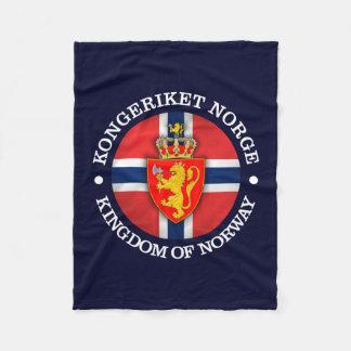Kingdom of Norway Fleece Blanket