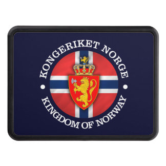 Kingdom of Norway Trailer Hitch Cover