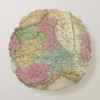 Kingdom of Sardinia Round Pillow