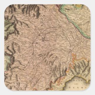 Kingdom of Sardinia Square Sticker