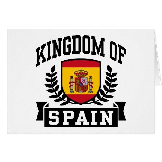 Kingdom of Spain Card