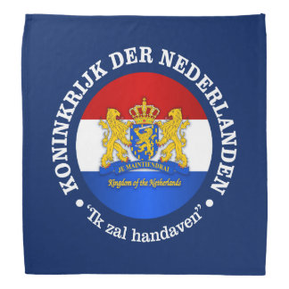 Kingdom of the Netherlands Bandana