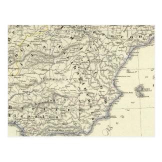 Kingdom of the Visigoths, Iberian Peninsula Postcard
