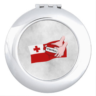 Kingdom of Tonga Rugby Flag Compact Mirror