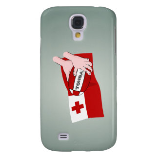 Kingdom of Tonga Tongan Rugby Flag Samsung Galaxy S4 Cover
