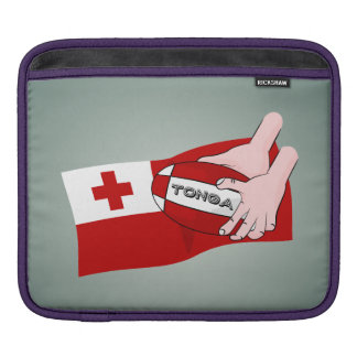 Kingdom of Tonga Tongan Rugby Flag Sleeve For iPads