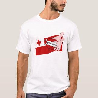 Kingdom of Tonga Tongan Rugby Flag T-Shirt