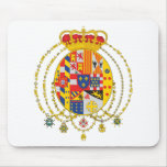 Kingdom of Two Sicilies Coat of Arms Mouse Pad