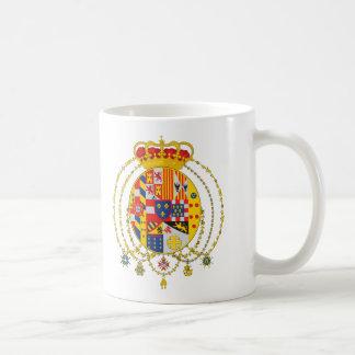 Kingdom of Two Sicilies Coat of Arms Classic White Coffee Mug