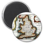 Kingdome del mapa/de la bandera de Inglaterra (Rei Imán