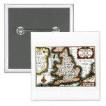 Kingdome del mapa/de la bandera de Inglaterra (Rei Pins