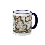 Kingdome del mapa/de la bandera de Inglaterra (Rei Taza De Café