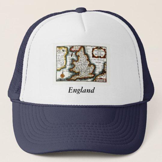 Kingdome of England (Kingdom of England) Map/Flag Trucker Hat